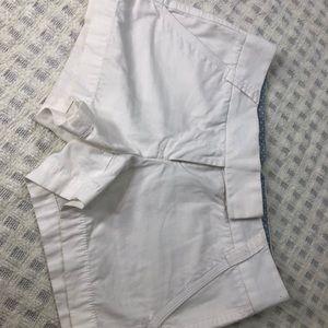 White J.Crew Shorts